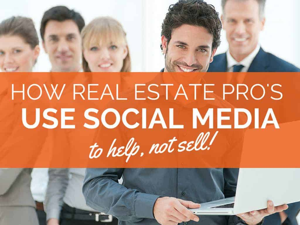 How Real Estate Professionals are Using Social Media