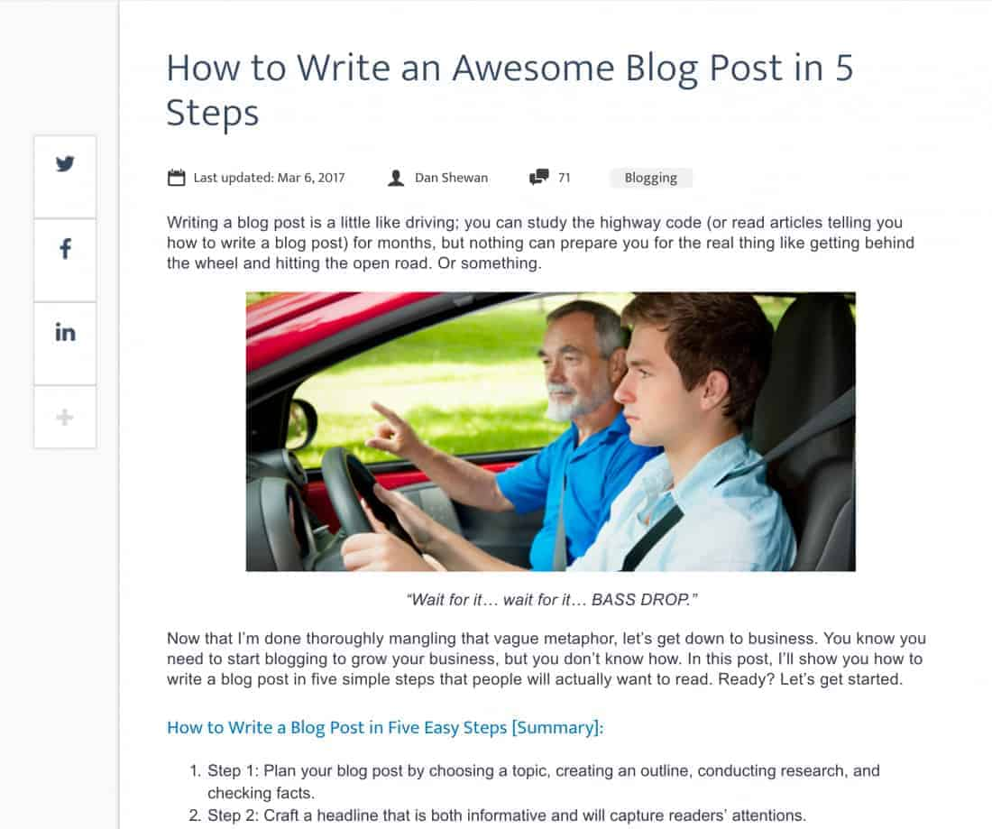 types-of-social-media-content-how-to-articles