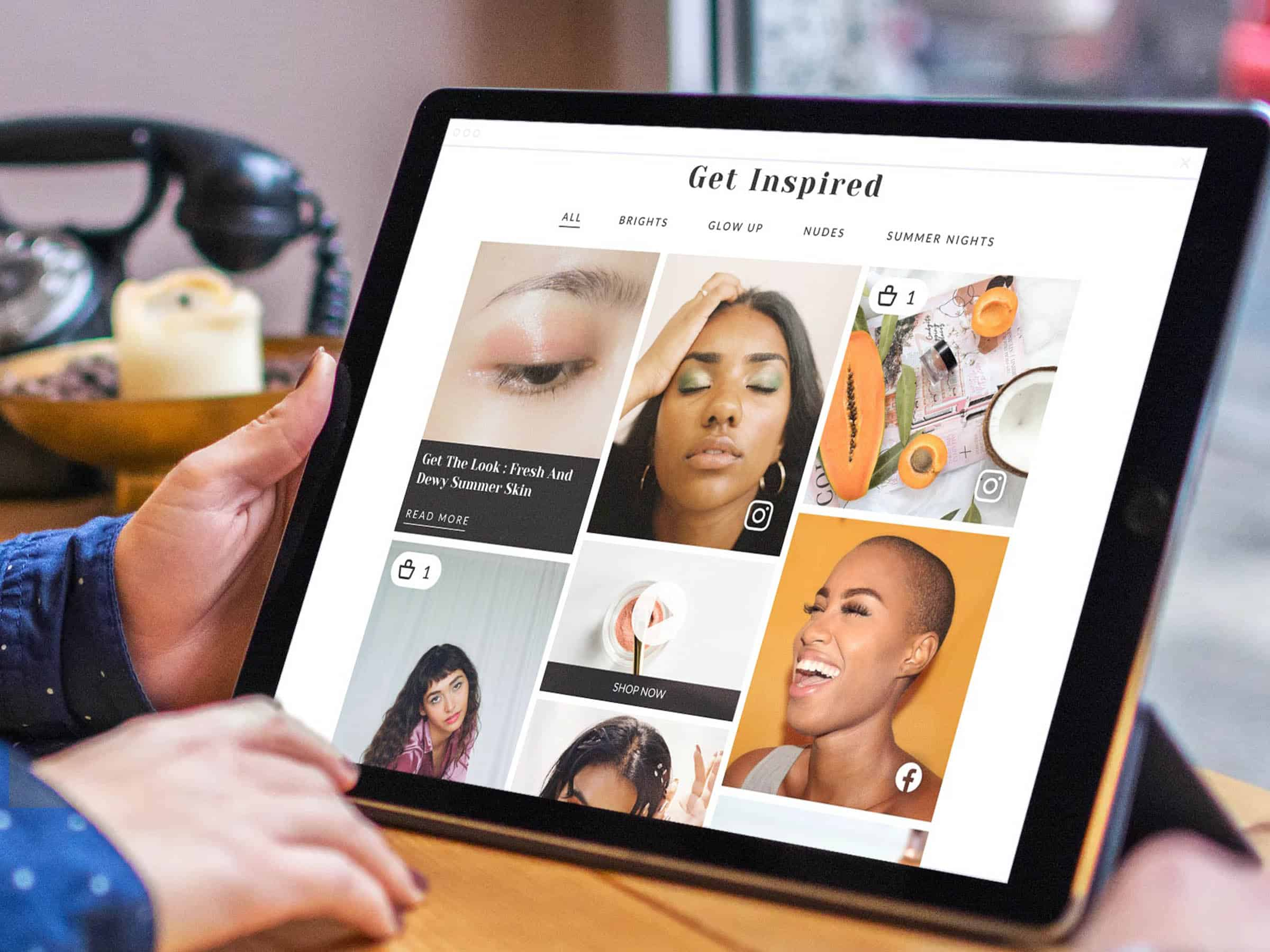 Inspire with dynamic content experiences