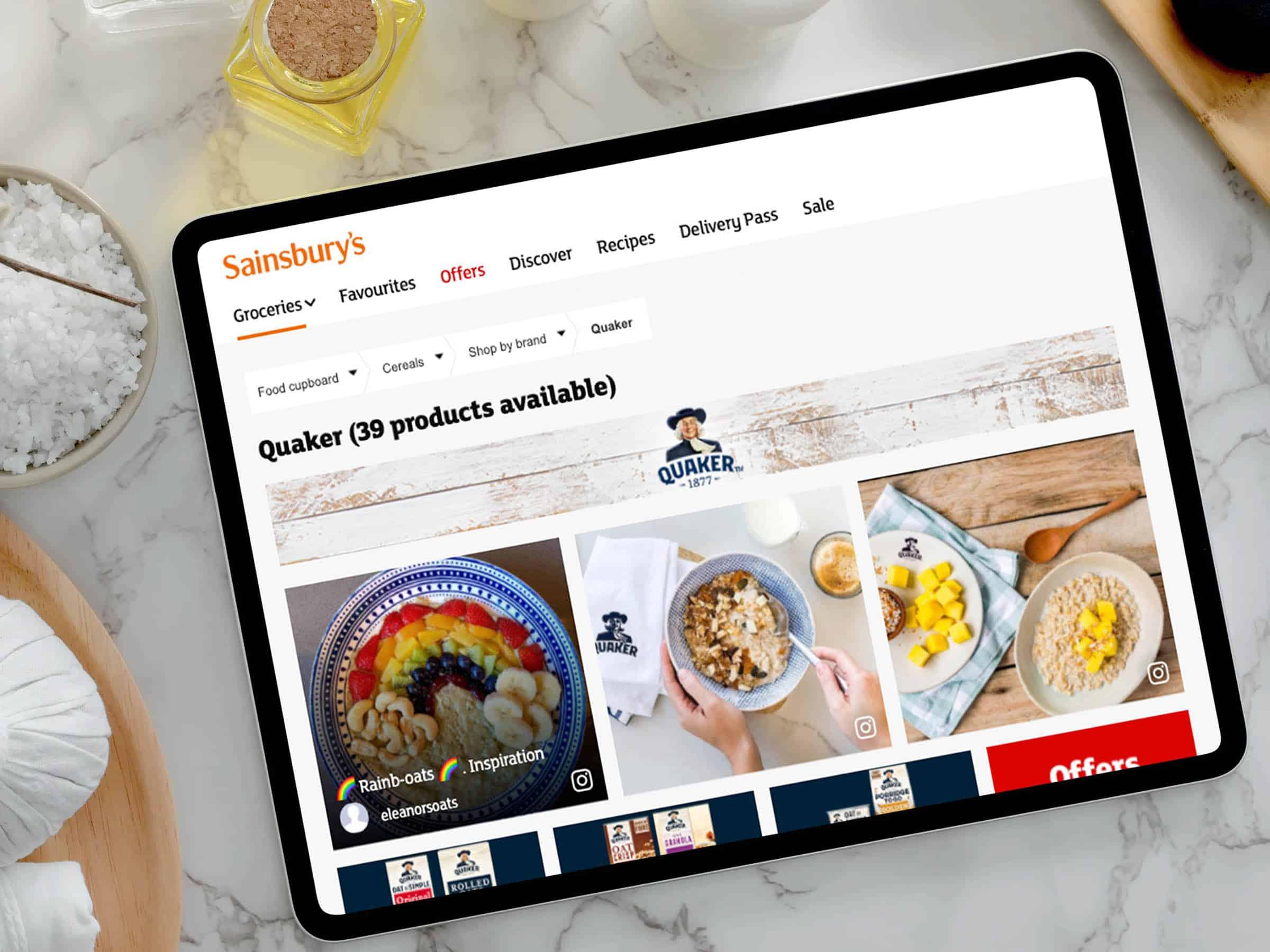 Drive brand awareness across online retailers