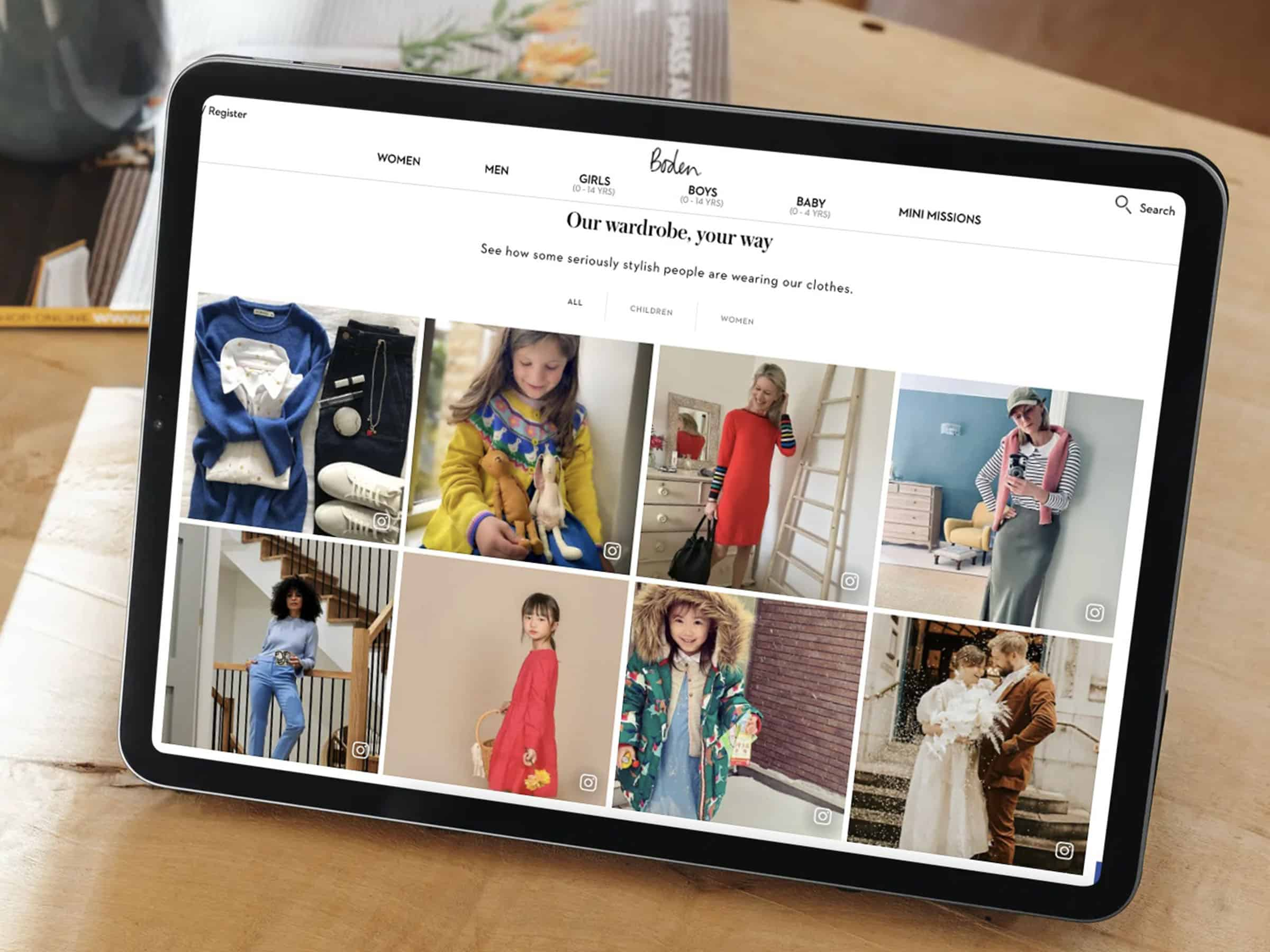 Boden power over 60,000 pages with dynamic UGC to inspire and convert