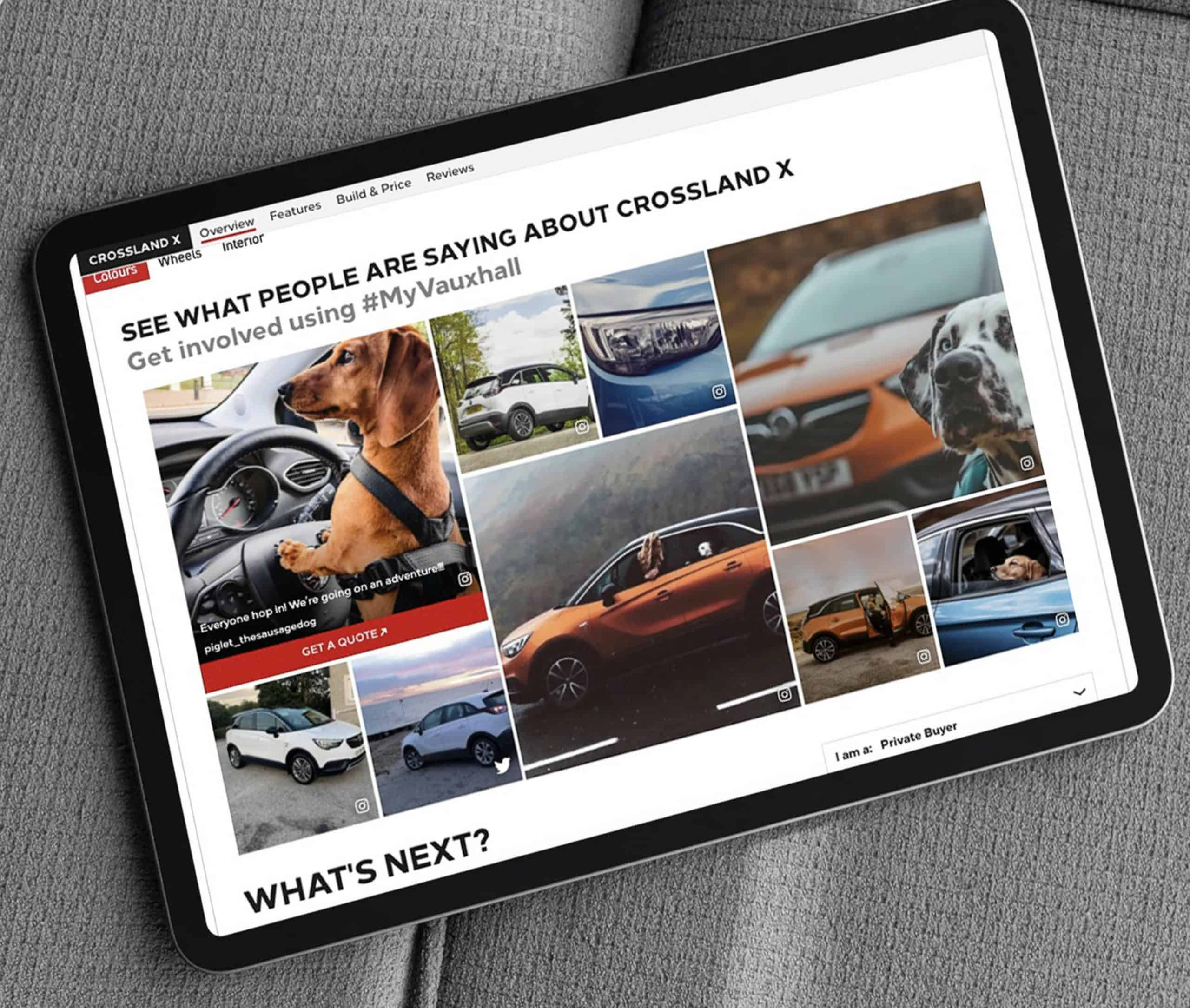 Vauxhall grow conversions rates by 25% using real customer content