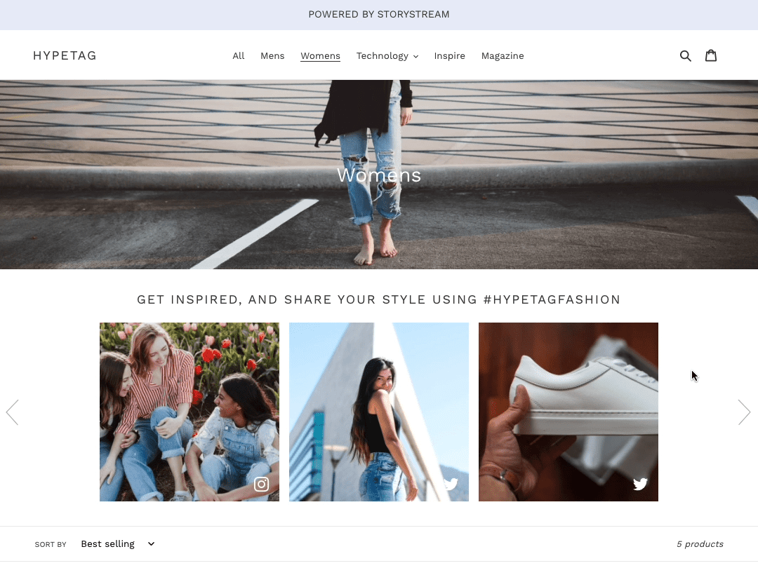 Inspire customers with the high performing UGC