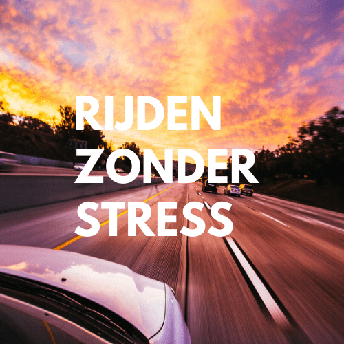 rijden zonder stress