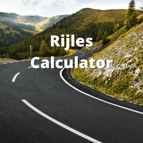 rijles calculator hoeveel rijlessen gemiddeld nodig