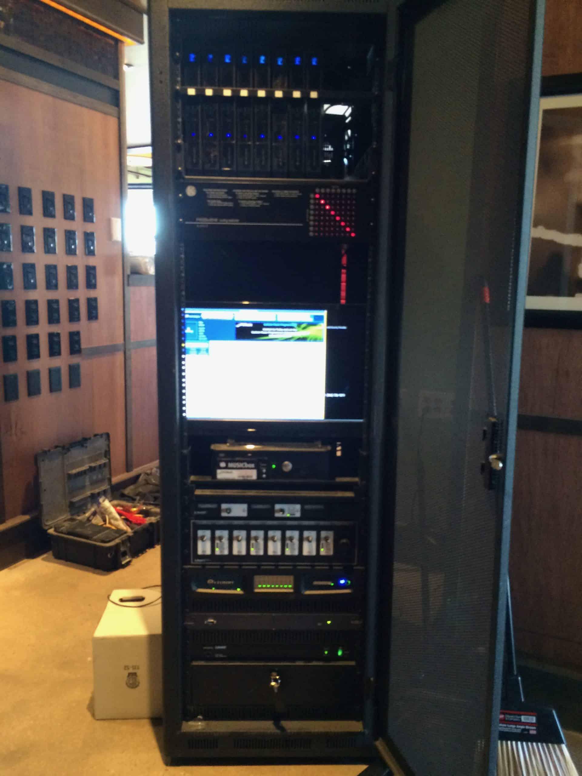 Audio/Video Distribution Rack