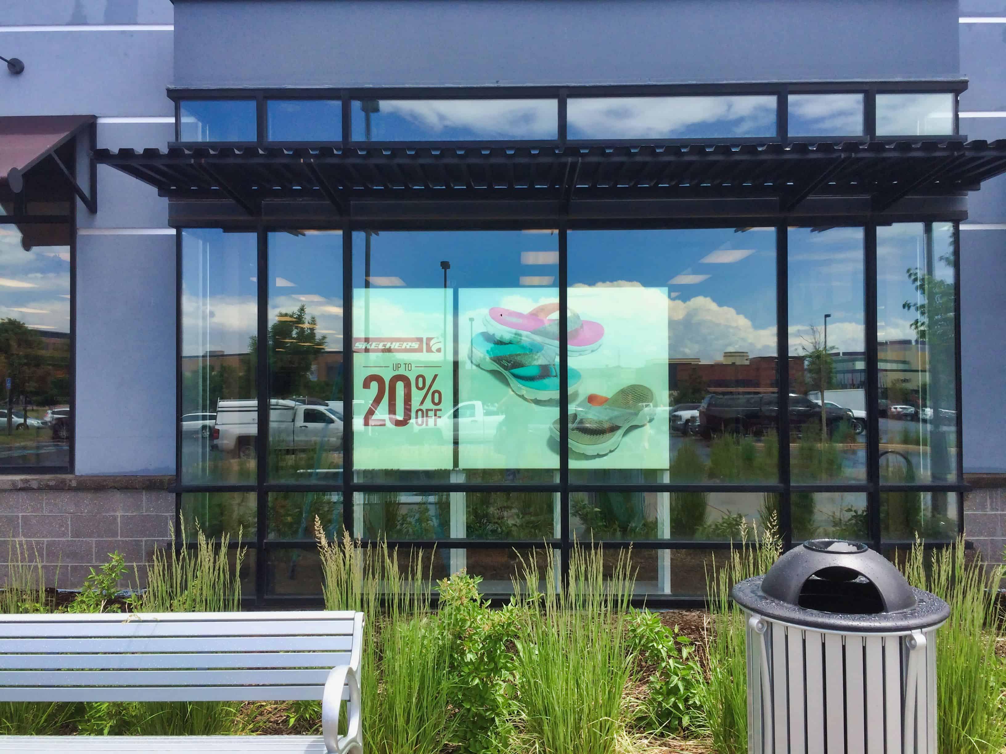 Storefront Digital Signage
