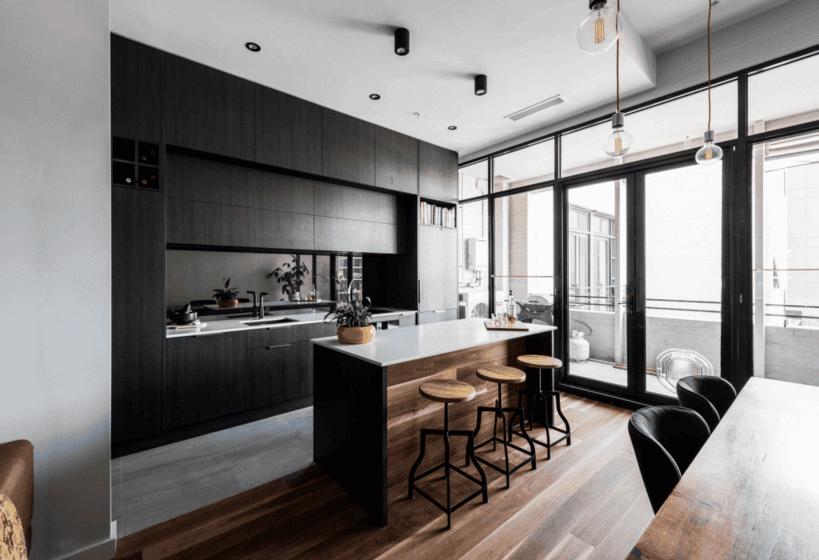 Small Apartment Kitchen Renovation brunswick