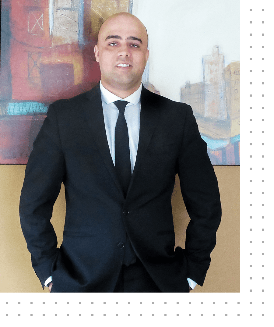 photo of Sangin (Sam) Safi, lawyer and founder of Safi Law Group of Edmonton, Alberta offering legal services for Family Law, Personal Injury and Motor Vehicle Accidents, Wills & Estates, Estate Administration and Estate Litigation and more