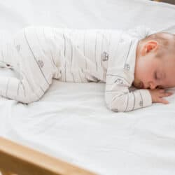 newborn baby bell sleeping