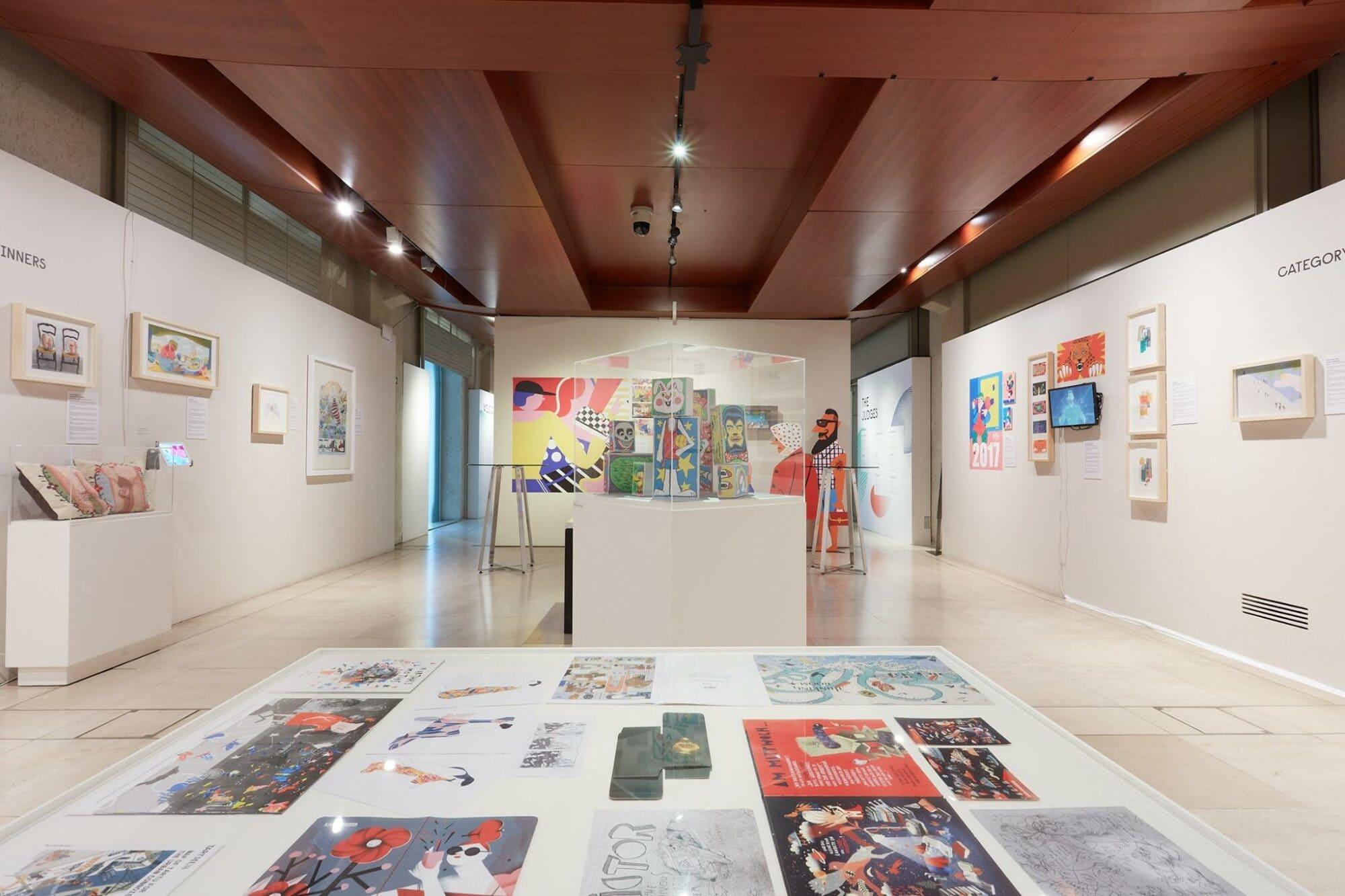 World Illustration Awards 2018 Exhibition, The Association of Illustrators, Somerset House, London.