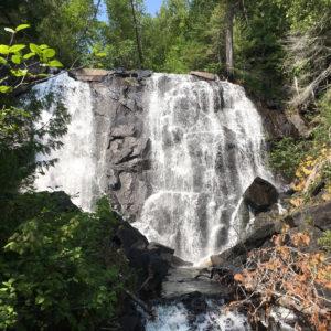 Otter Cove waterfall