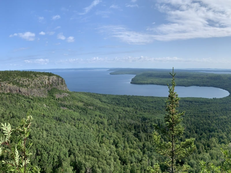 Hike outlook across Lake Superior