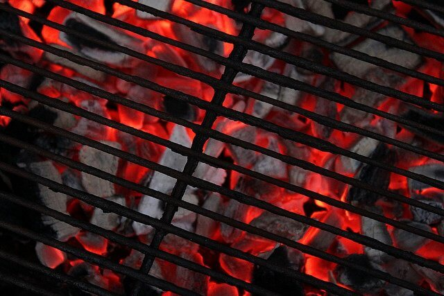 There's nothing quite as hypnotic as hot coals in the grill.