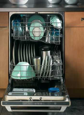 Save precious time by using a dishwasher large enough to handle all your cookware!