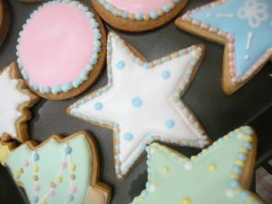 Royal icing transforms cookies from ordinary to wow.