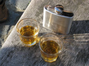 Flasks are a great way to transport all your favorite drinks.