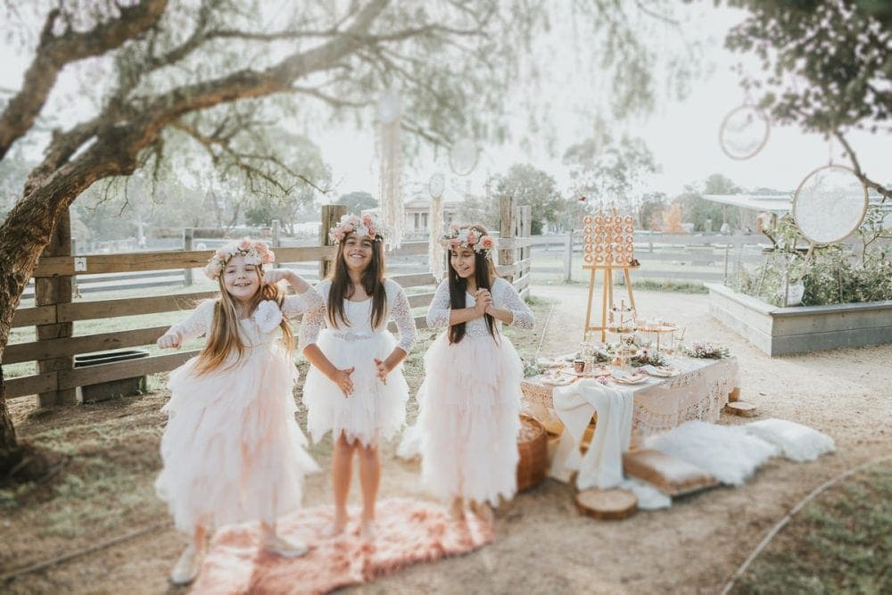 stylish kids party photographer - high end birthday photographer in Melbourne