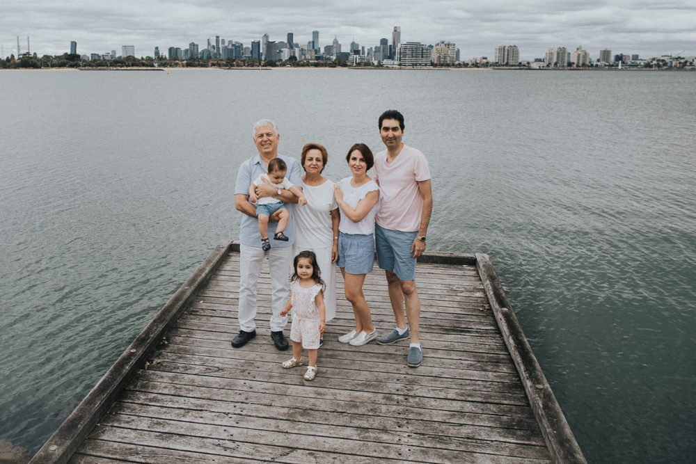 Melbourne skyline - Family Photography locations