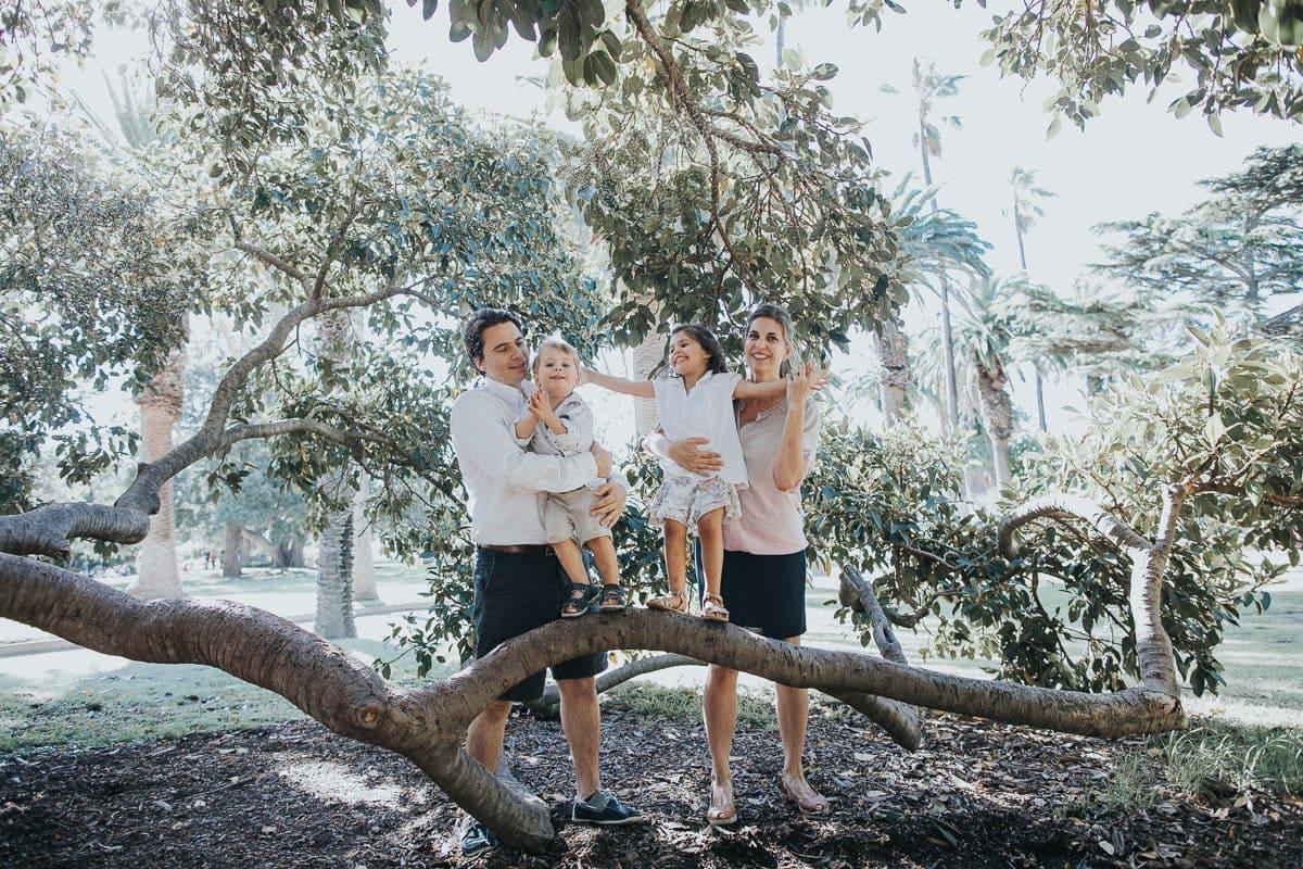 Park Family Photos in Melbourne - Best Outdoor locations in Melbourne for family photos - happy family photos