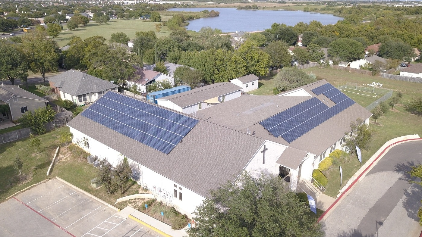 True Life Fellowship become the first house of worship to go solar in Round Rock. they partnered with Longhorn Solar out of Austin on the installation.
