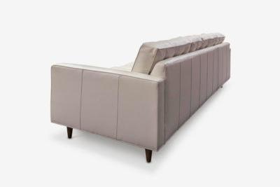 Leather Redding Mid Century Sofa
