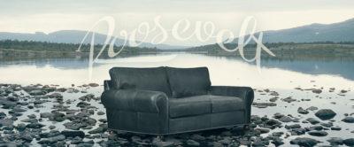 Roosevelt Lawson Style Roll Arm Sofa