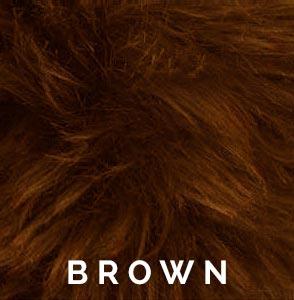 Brown Austrailian Sheepskin