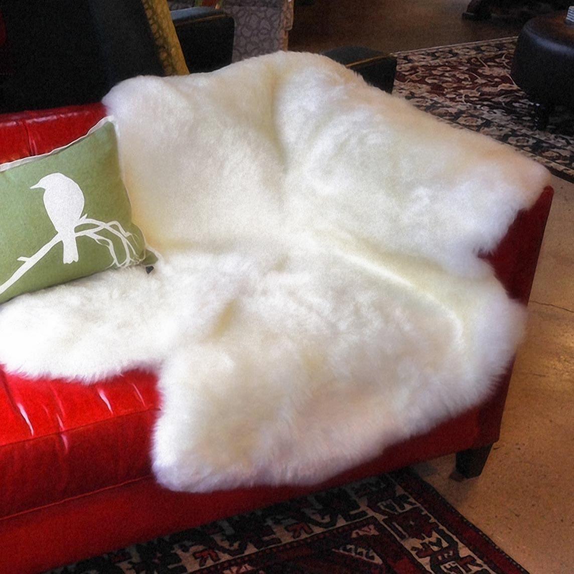 Australian Sheepskin Custom Throws, Rugs, and Accents