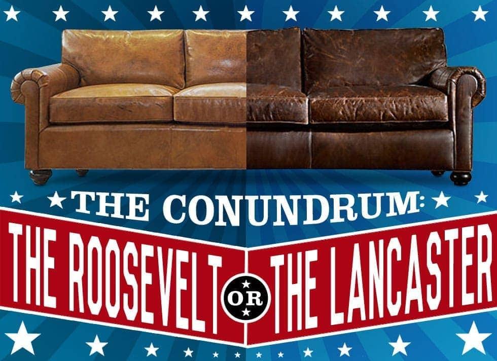 Restoration Hardware Lancaster VS Of Iron & Oak's Roosevelt