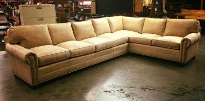 Custom American Made Roosevelt Sectional Sofa