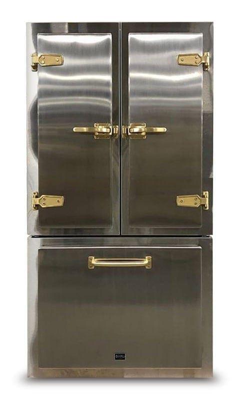 Big Chill Classic Chrome Refrigerator