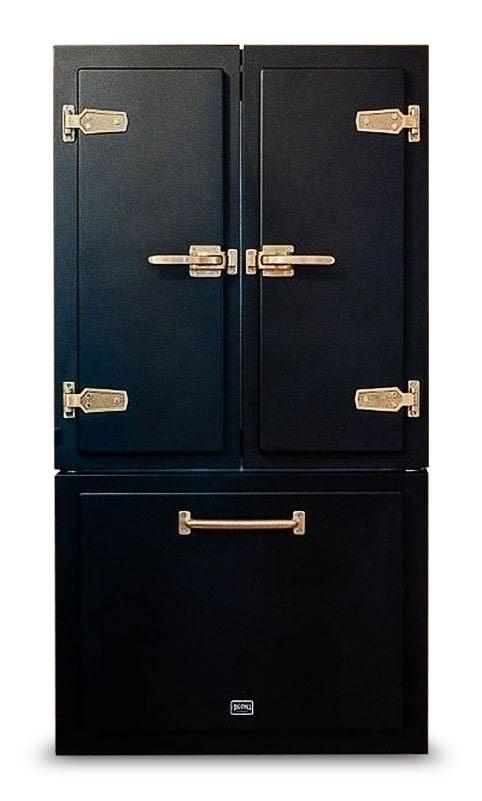 Big Chill Classic Black Refrigerator