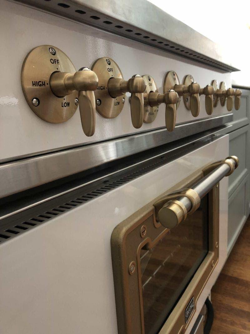 Big Chill Classic White Enamel Oven