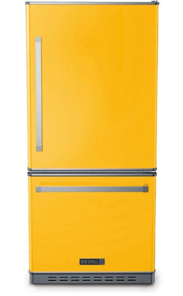 Big Chill Classic Taxi Yellow Refrigerator