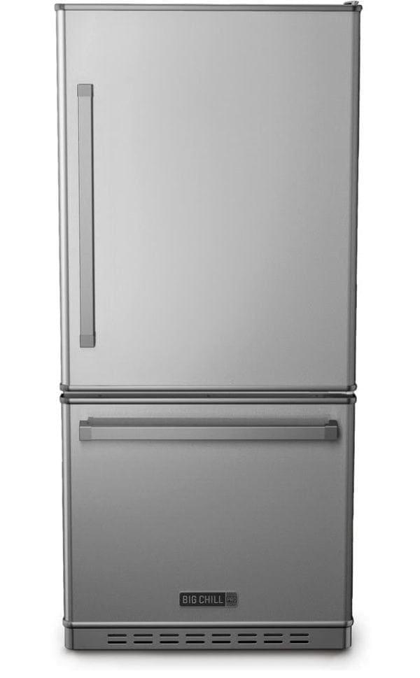 Big Chill Classic Gunmetal Grey Refrigerator