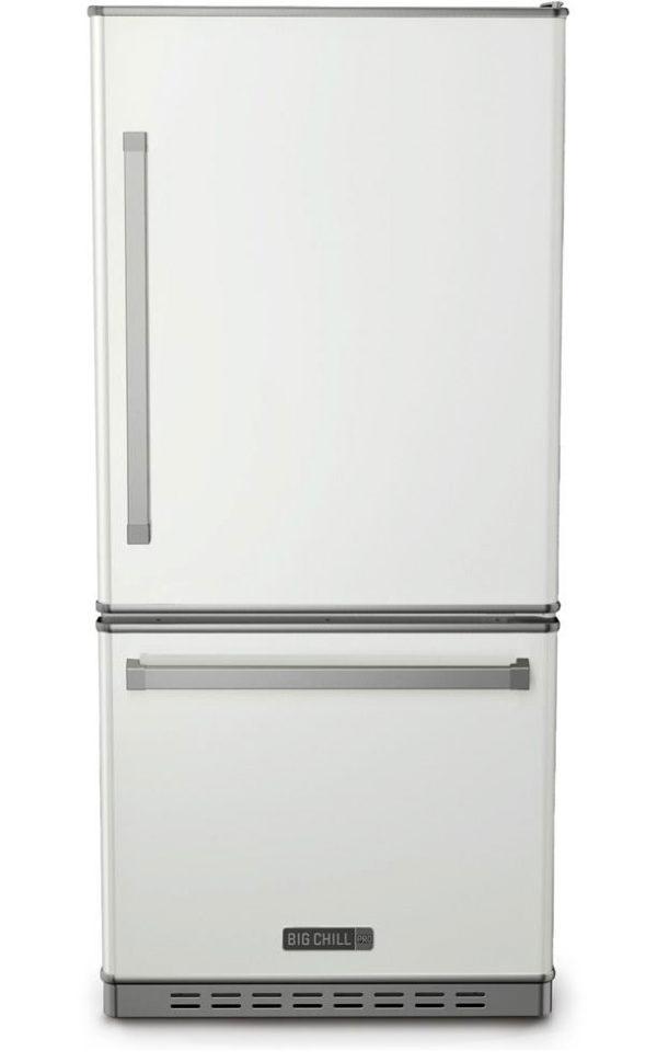 Big Chill Classic White Refrigerator