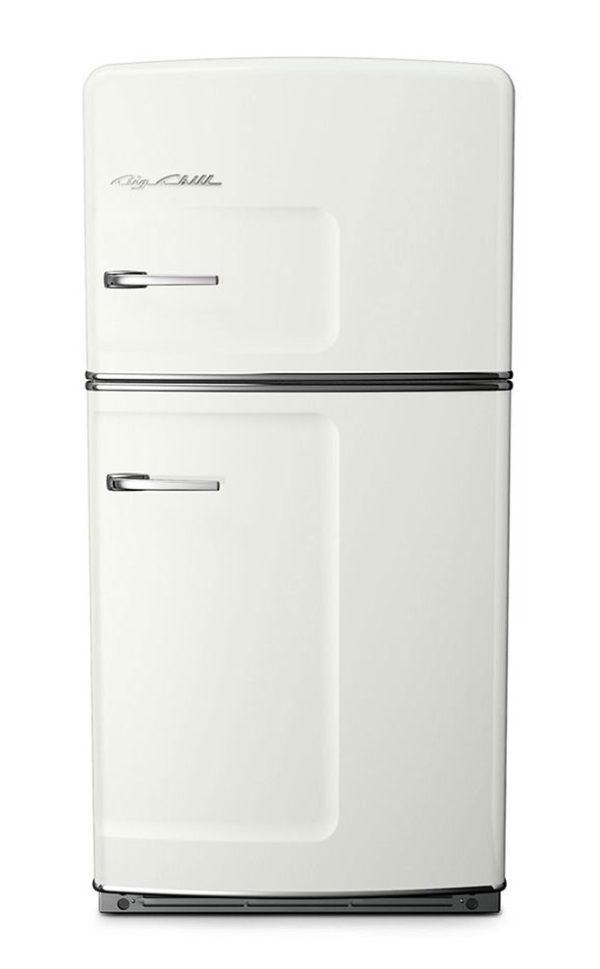 Big Chill Retro White Refrigerator