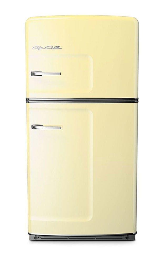 Big Chill Retro Cream Refrigerator