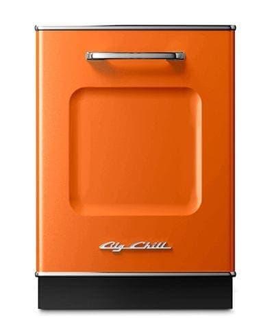 Big Chill Retro Dishwasher In Orange