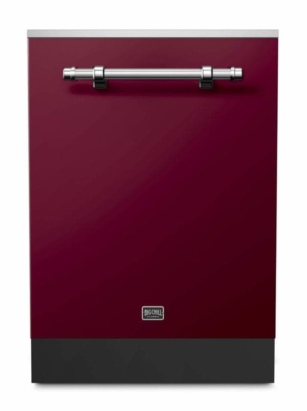 Big Chill Classic Cabernet Dishwasher With Chrome