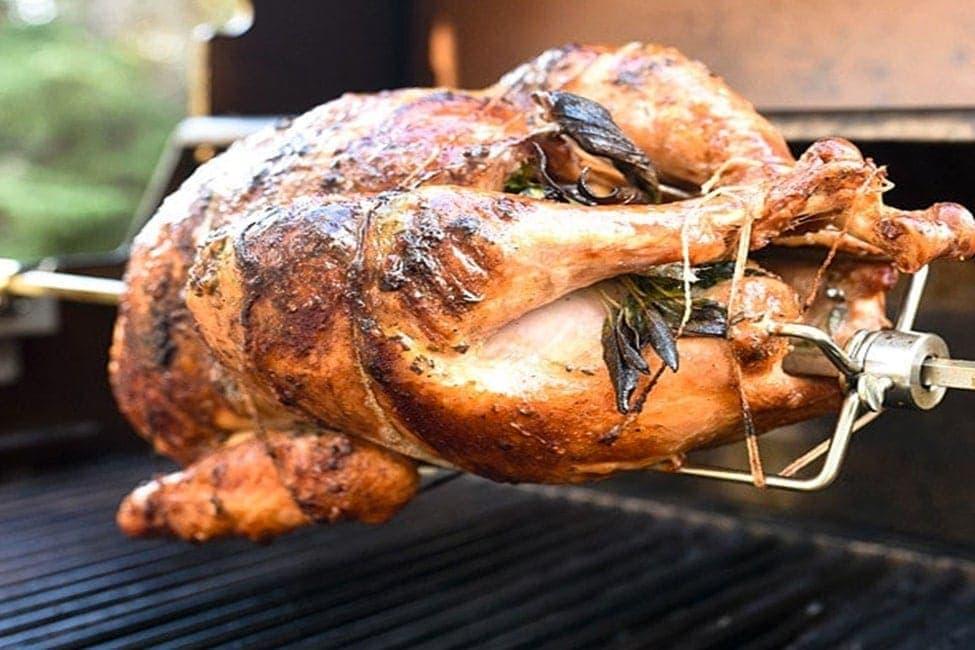 Rotisserie Thanksgiving Turkey