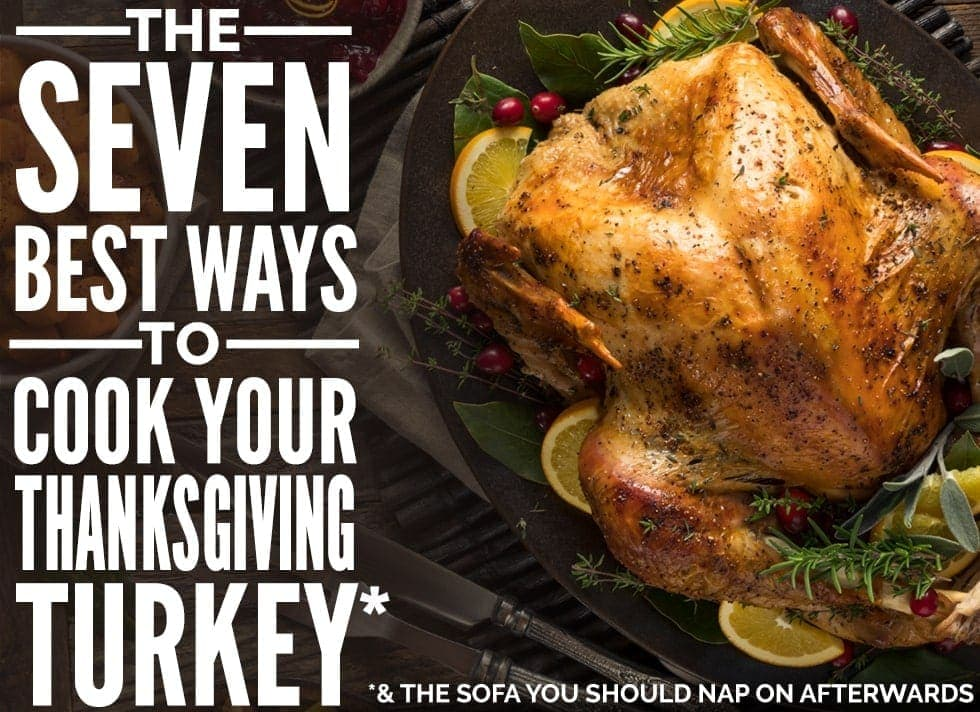 The Best Way To Cook Your Thanksgiving Turkey