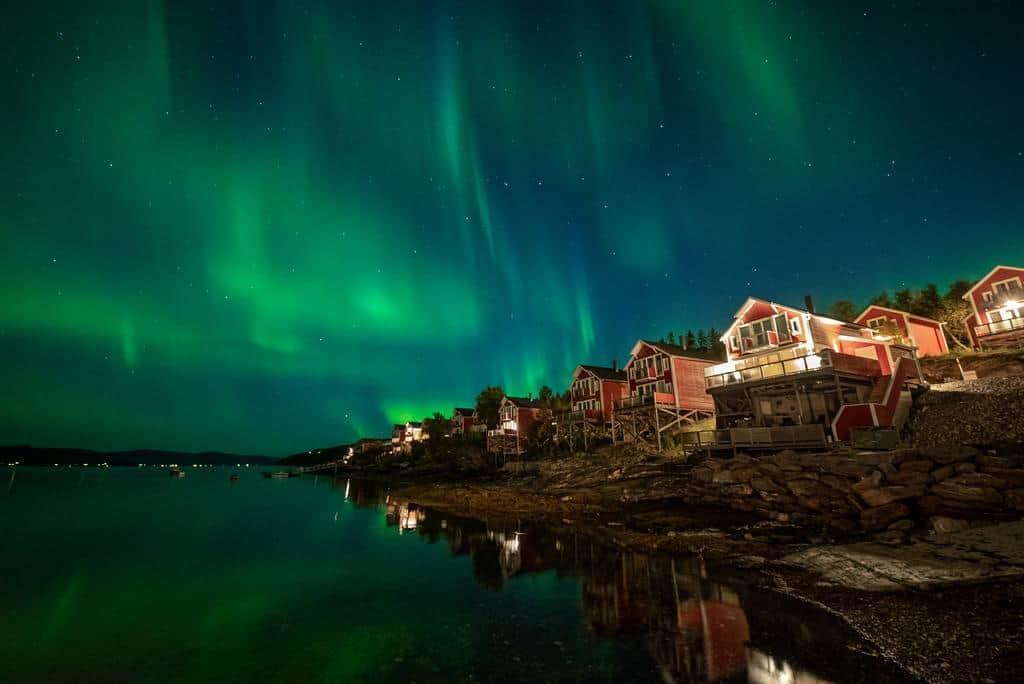 Hotéis para ver aurora boreal