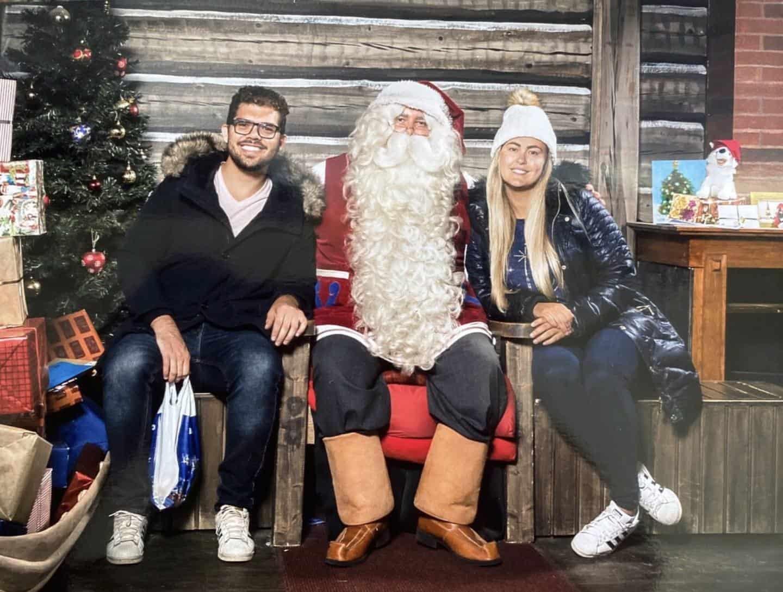 Terra do Papai Noel na Finlândia