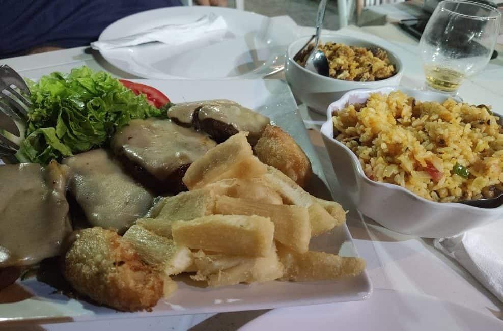 Alimentação nos Lençóis Maranhenses - onde comer