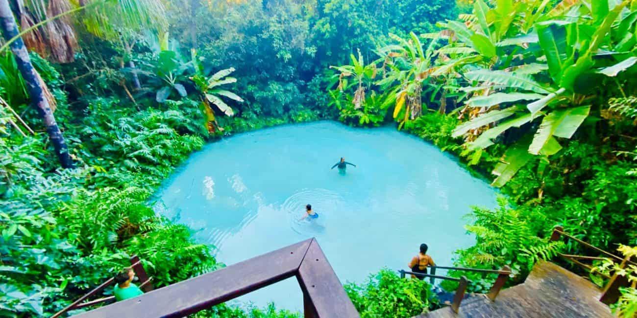 Como é a temperatura da água dos fervedouros e cachoeiras do Jalapão