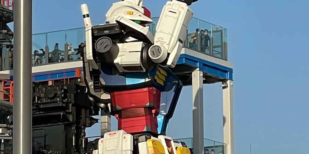 Gundam Factory em Yokohama
