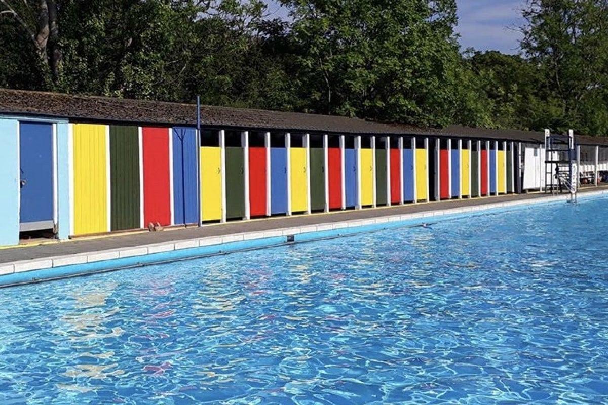 outdoor pools uk