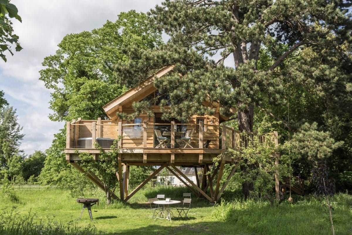 Orchard Treehouse - best treehouse breaks
